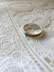 【kensscratch(ケンズスクラッチ)の口コミ】 普通の指輪はじゃなくて豪華な飾りもいらない、私たちらしいものが欲しい…