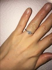 【Ponte Vecchio(ポンテヴェキオ)の口コミ】 大好きなアニメで、男性が女性のヒロインへハートシェイプの婚約指輪を贈…