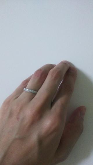 【スタージュエリー(STAR JEWELRY)の口コミ】 プロポーズ翌日に現在の夫と一緒に買いに行きました。昔通っていた英会話教…