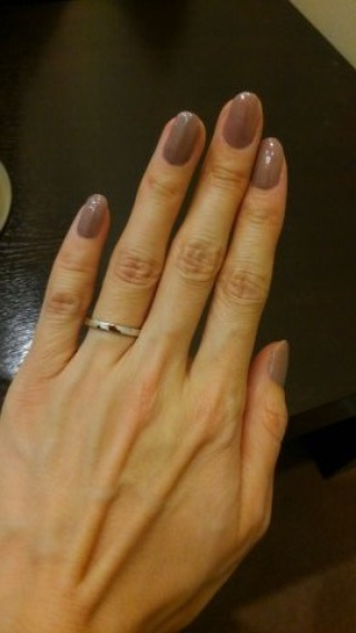 【TASAKI(タサキ)の口コミ】 シンプルなThe結婚指輪だけど、かくかくしていてシャープで洗練された感じ…
