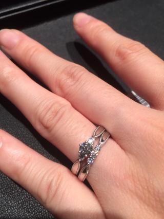 【エクセルコダイヤモンド(EXELCO DIAMOND)の口コミ】 外資系のブランドではなく、ダイヤにこだわりを持っているところで買いた…