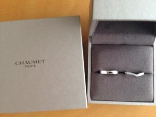 【ショーメ(CHAUMET)の口コミ】 エンゲージリングとの重ねづけを考慮しながら結婚指輪を探しました。私は…