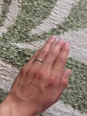 【ティファニー(Tiffany & Co.)の口コミ】 私は婚約指輪は購入せず、結婚指輪を少しいいものにしようということで、テ…