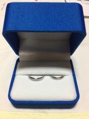 【ガラOKACHIMACHIの口コミ】 婚約指輪を購入した際に質も価格も良かったので結婚指輪も購入しました。デ…
