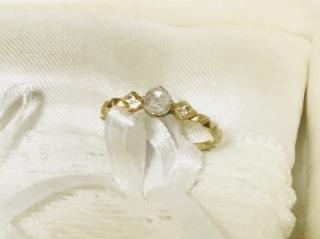 【Jupiter BLANTELIE(ジュピターブラントリエ)の口コミ】 指が細く4号なので、 大振りなデザインは似合わず、 華奢でお洒落な物を…