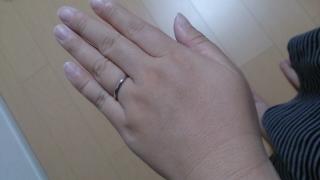【アイプリモ(I-PRIMO)の口コミ】 シンプルなタイプの指輪がほしいなと思って探していたら、店員さんが勧めて…