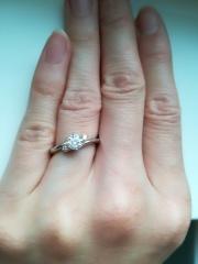 【エクセルコダイヤモンド(EXELCO DIAMOND)の口コミ】 ダイヤモンドの4C(カラット、カラー、クラリティー、カット)のうちクラ…
