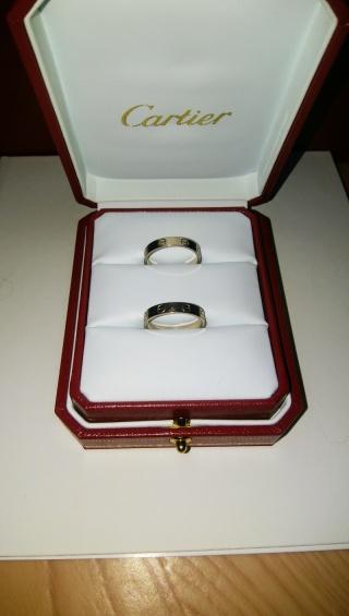 【カルティエ(Cartier)の口コミ】 シンプルな指輪でかつ、デザイン性のある物を探していました。カルティエ…