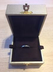 【JEWELRY  KAMATA(ジュエリーかまた)の口コミ】 デザインと指につけた時に一番しっくりしたところです。ほかの指輪も何本か…