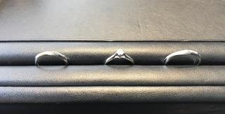 【エクセルコダイヤモンド(EXELCO DIAMOND)の口コミ】 指輪については大まかなイメージしか伝えていなかったのですが、提示してい…