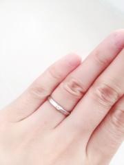 【銀座ダイヤモンドシライシの口コミ】 たくさんの指輪を試着させていただき これだ!と思うものに出会えました。…