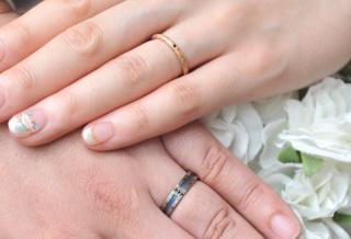 【Aroode(アローデ)の口コミ】 会社の先輩夫婦の結婚指輪がとてもオシャレだったので、お店を教えてもら…