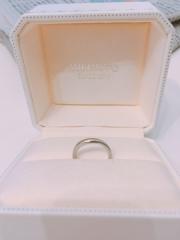 【MIKIMOTO(ミキモト)の口コミ】 婚約指輪にダイヤが入っているので、結婚指輪は普段使いのできるシンプルな…