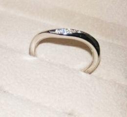 【TRECENTI(トレセンテ)の口コミ】 シンプルで頑丈な指輪を求めてお店をまわっていたところ、トレセンテさん…