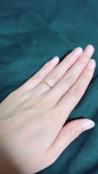 【ティファニー(Tiffany & Co.)の口コミ】 元々ティファニーのブランドが好きで、当時はピンクゴールドの指輪が欲し…
