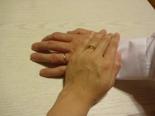 【LUCIE(ルシエ)の口コミ】 私たちが結婚指輪を決めるにあたっての絶対条件がイエローゴールドの素材…
