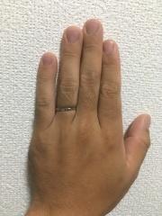 【ガラOKACHIMACHIの口コミ】 初めに指輪を探す所から始まり、雑誌や色んな情報を元に沢山見ていました…