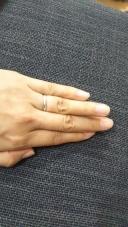 【俄(にわか)の口コミ】 カルティエやティファニーなど、とにかくお店でいろんなデザインの指輪を見…