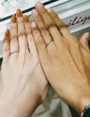 【アンジェリックフォセッテ(Angelique Fossette)の口コミ】 迷いに迷って、こちらの指輪に決めたのは、 自分では分からなくなってしま…