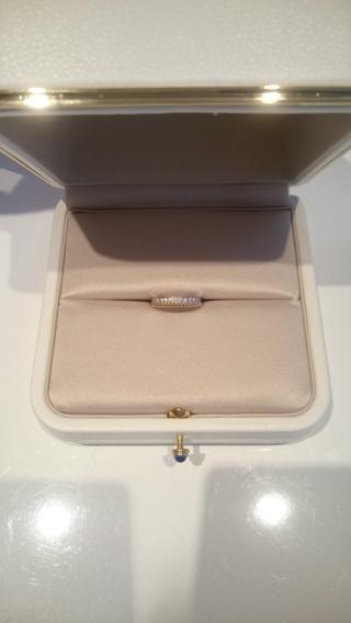 【ブシュロン(BOUCHERON)の口コミ】 当初、結婚指輪はプラチナベースのエタニティかハーフエタニティリング!!…