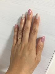 【ete(エテ)の口コミ】 私が欲しいといってた小ぶりのゴールドの婚約指輪を探していてくれたらしく…