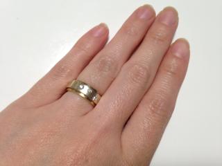 【杢目金屋(もくめがねや)の口コミ】 日本の伝統技術を大事にしているコンセプトが気に入り、ぜひここで結婚指…