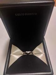 【エクセルコダイヤモンド(EXELCO DIAMOND)の口コミ】 結構派手なものが好きなのですが、予算があまりなかったので10万前後で考…