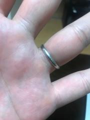 【カルティエ(Cartier)の口コミ】 結婚指輪は毎日つけるものだからしっかりとしたブランドのものが良かった…