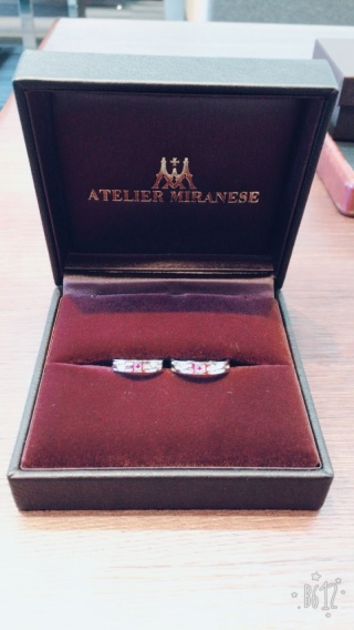 【アトリエミラネーゼの口コミ】 夫婦共々、手作りで指輪を作りたいと思っていました。色々なサイトを検索…