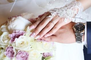 【ENUOVE(イノーヴェ)の口コミ】 何年か前に雑誌で見て一目惚れしてから婚約指輪はこれにする!と決めてい…