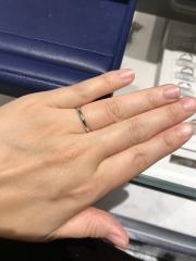 【銀座ダイヤモンドシライシの口コミ】 メンテナンスもしっかりしていて、作り方や素材など老舗の指輪屋さんなので…
