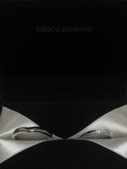 【エクセルコダイヤモンド(EXELCO DIAMOND)の口コミ】 ダイヤの輝き。他店でも検討しましたが、圧倒的にエクセルコさんのダイヤ…
