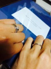 【銀座ダイヤモンドシライシの口コミ】 ブーケ、ビーゼアフォーユー、プリュームストレートで検討。婚約指輪のビ…