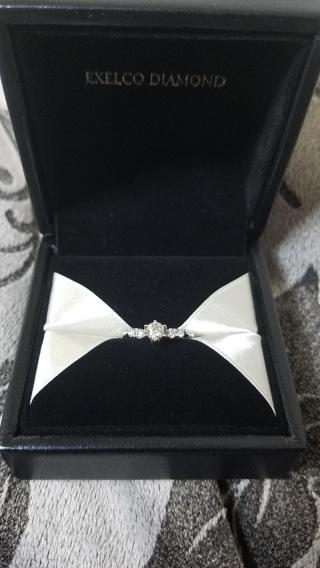 【エクセルコダイヤモンド(EXELCO DIAMOND)の口コミ】 婚約指輪、結婚指輪を彼と一緒に探しました。 3件回ってかなり悩みました…