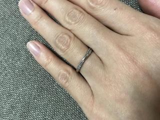 【VANillA(ヴァニラ)の口コミ】 Vanillaさんの指輪はどれも可愛くてとても悩みました。スタッフさんの丁寧…