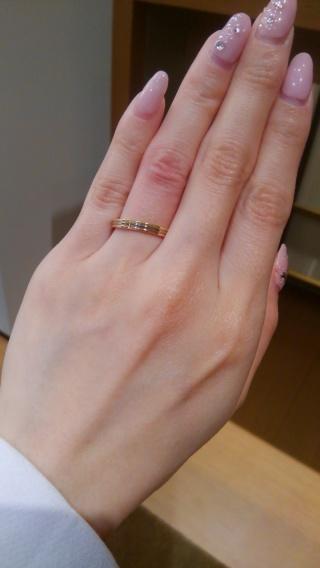 【カルティエ(Cartier)の口コミ】 ダイヤなしのシンプルなデザインですが、ピンクゴールド、ゴールド、ホワ…