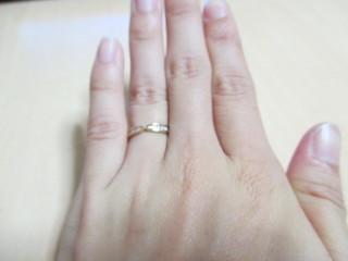 【OCTAVE(オクターヴ)の口コミ】 ピンクゴールドが好きで優先的にピンクゴールドの指輪を探していた時にこ…