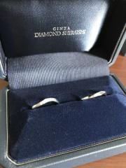 【銀座ダイヤモンドシライシの口コミ】 ウェーブの形で探しており何件か回ったのですが、中でもこちらの指輪はシ…