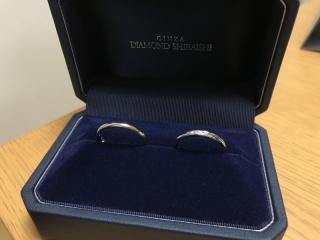 【銀座ダイヤモンドシライシの口コミ】 店員さんの接客がとても良かったのと、 指輪のデザインが自分の好みだった…