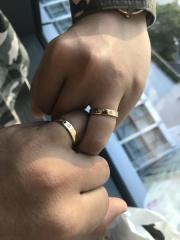【手作り指輪工房 G.festa(ジーフェスタ)の口コミ】 世界で1つだけの指輪を作りたかったので、2人でデザインも考えて最初から…