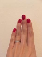 【MIKIMOTO(ミキモト)の口コミ】 ダイアモンドがあしらわれたデザインの指輪を探していたため百貨店中心にお…