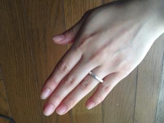 【Chrome Hearts(クロムハーツ)の口コミ】 結婚指輪は婚約指輪と違い、普段から身に着ける物なのでシンプルなデザイ…