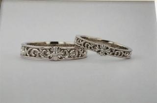 【JEWELRY  KAMATA(ジュエリーかまた)の口コミ】 『クロスのデザイン』『オシャレな指輪』等個性的な指輪を希望だったので…