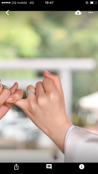 【ティファニー(Tiffany & Co.)の口コミ】 立て爪のデザインではなく、パヴェタイプの婚約指輪を検討していました。 …