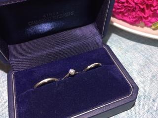 【銀座ダイヤモンドシライシの口コミ】 3つで予算50万円のセットリングで探していました。空から降り注ぐ光に向か…