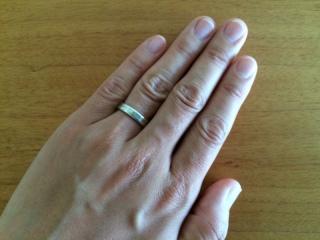 【杢目金屋(もくめがねや)の口コミ】 結婚情報誌の写真を見て決めましたが、オーダーの商品なので自分たちの希…
