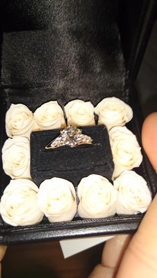【エクセルコダイヤモンド(EXELCO DIAMOND)の口コミ】 デザインが良かった。 ダイヤモンドのクオリティーと比較して、コストが良…