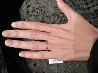 【ラザール ダイヤモンド(LAZARE DIAMOND)の口コミ】 アフターサービスとダイヤモンドの質・高級感が抜群によく気に入りました。…