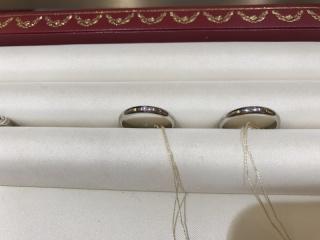 【カルティエ(Cartier)の口コミ】 ダイヤモンドが一粒入っているとデザインと入っていないデザインの両方を…