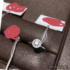 【アイプリモ(I-PRIMO)の口コミ】 存在感がすごくあり綺麗です。 大きいダイヤモンドの周りに小さいダイヤモ…